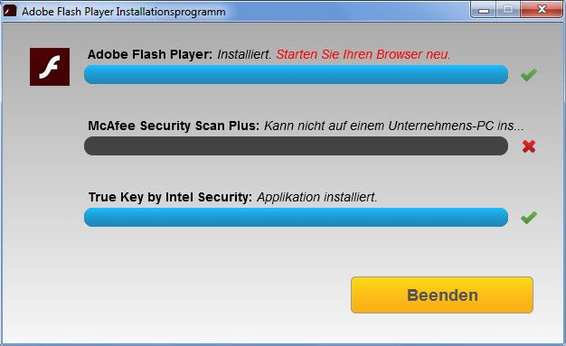 Flashplayer Installieren