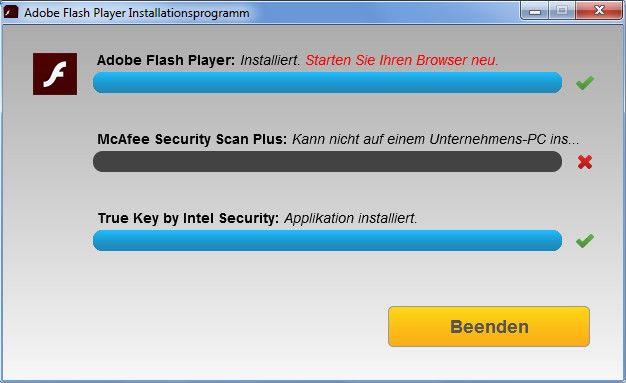 adobe flash installieren